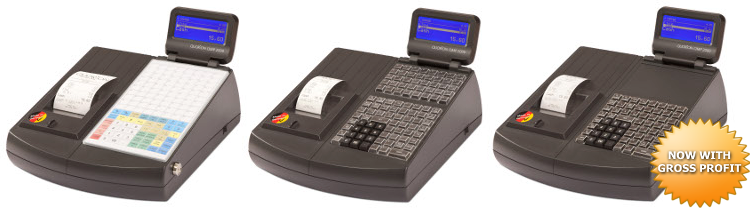 QMP2000 - electronic cash register for retail stores and restaurants